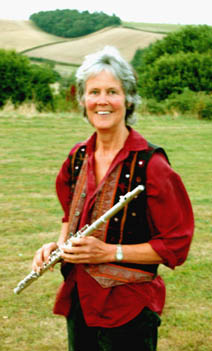 Picture of Jo Hodges - Flautist with Sheer hopody Barn Dance Band