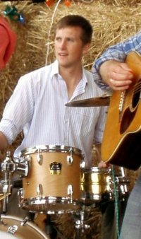 Picture of John Tipping - Drummer with Sheer hopody Barn Dance Band